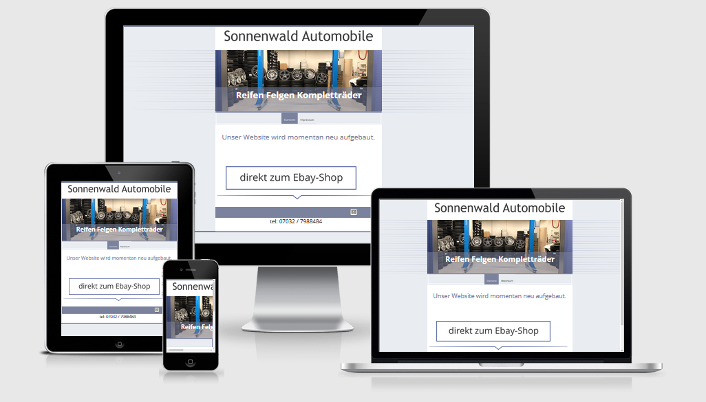 Sonnenwald-Automobile-homepage