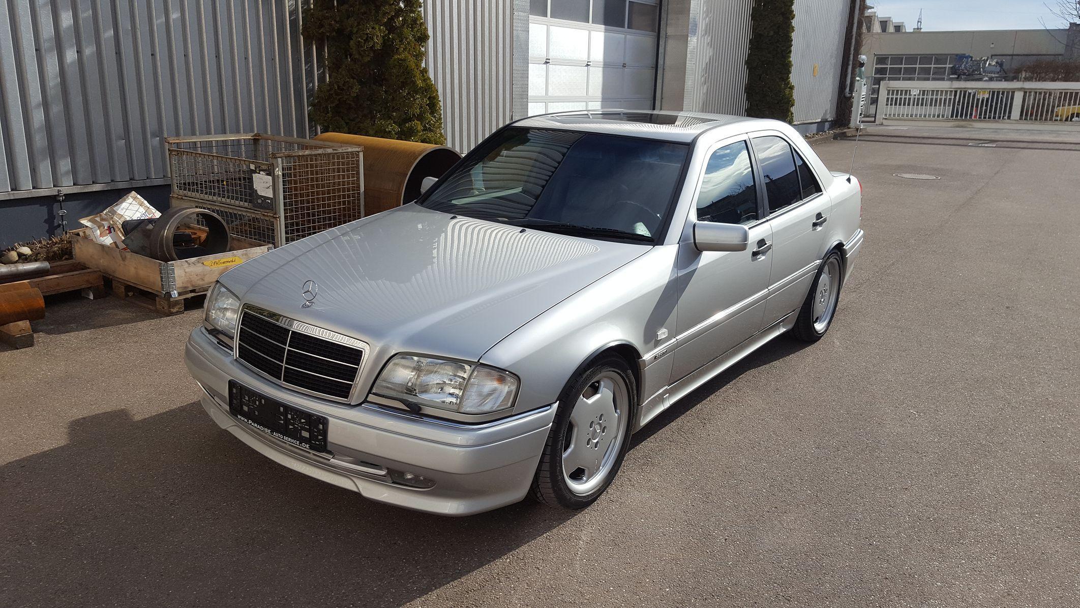 Mercedes W202 C36 AMG (206 KW/ 280 PS)